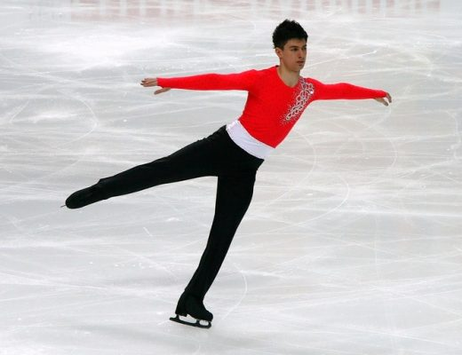 figure skating young man